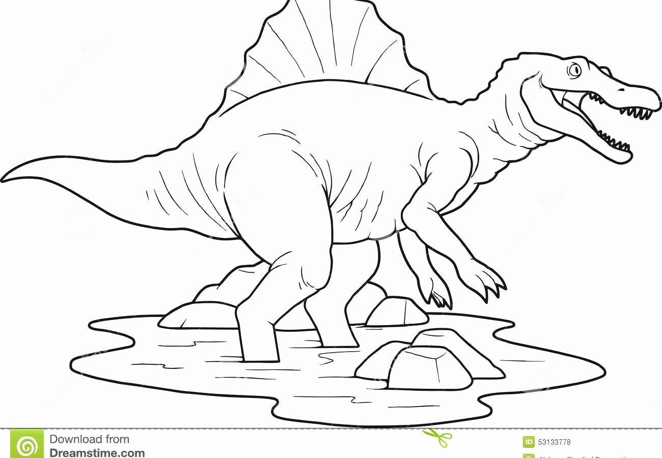 Cartoon Coloring Book Pdf Free Download Inspirational 45 Baby Dinosaur Coloring Pages Dinosaur Coloring Pages Animal Coloring Pages Spinosaurus
