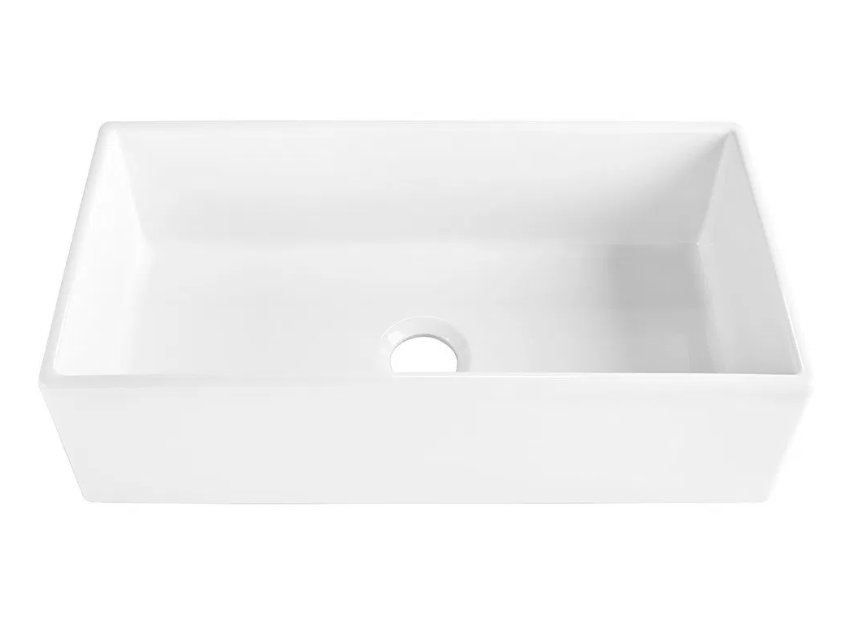 Harper Fireclay Farmhouse Kitchen Sink Farmhouse Sink Kitchen Fireclay Sink Sink