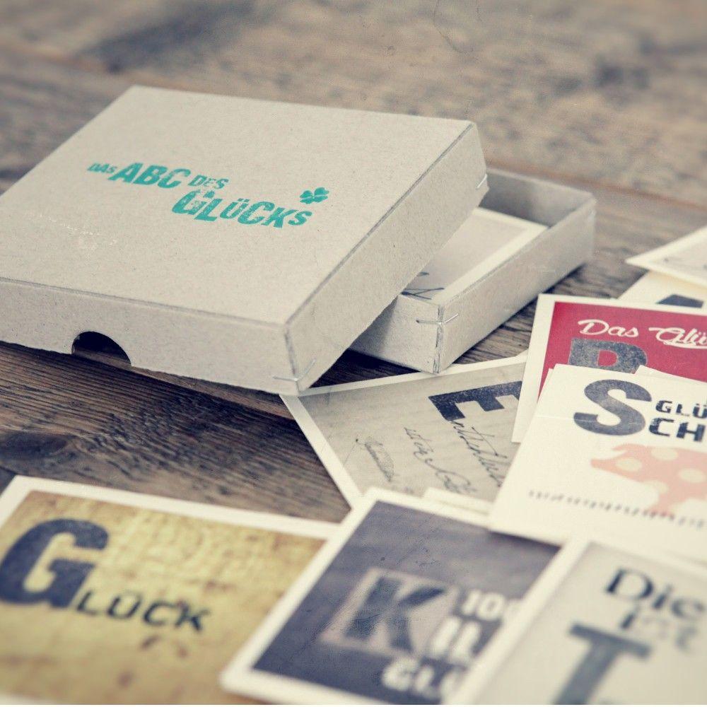 Kartenbox: Das ABC des Glücks