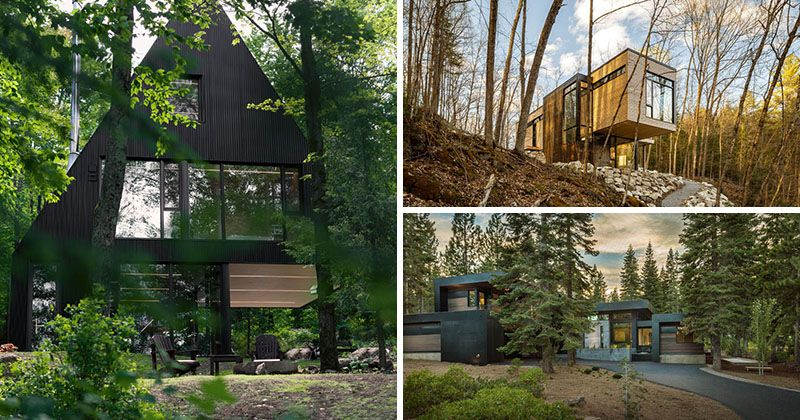 18 Modern Houses In The Forest With Images Dream House