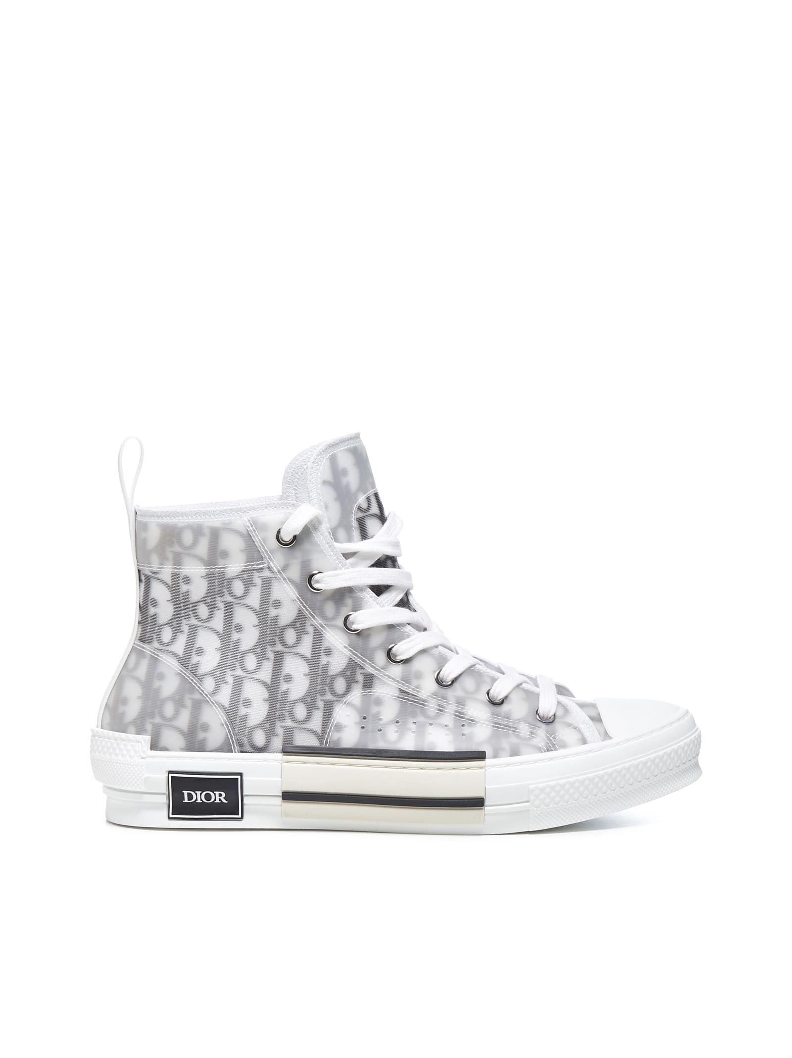 Dior Sneakers In White Black   ModeSens
