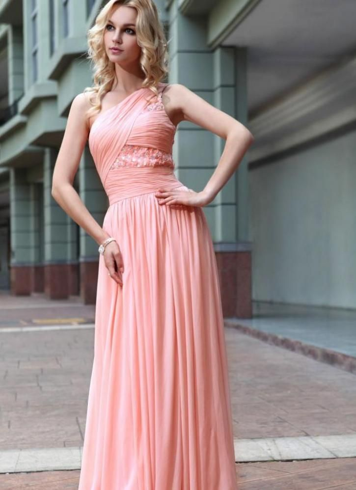 22e7a4c57bd peach formal gown