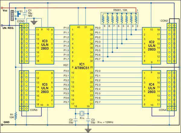 Dynamic Display Using Led Strip Electronics Basics Electronics Projects Electronics Circuit