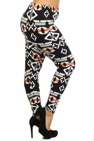 Orange Is The New Black Leggings (Plus Size)