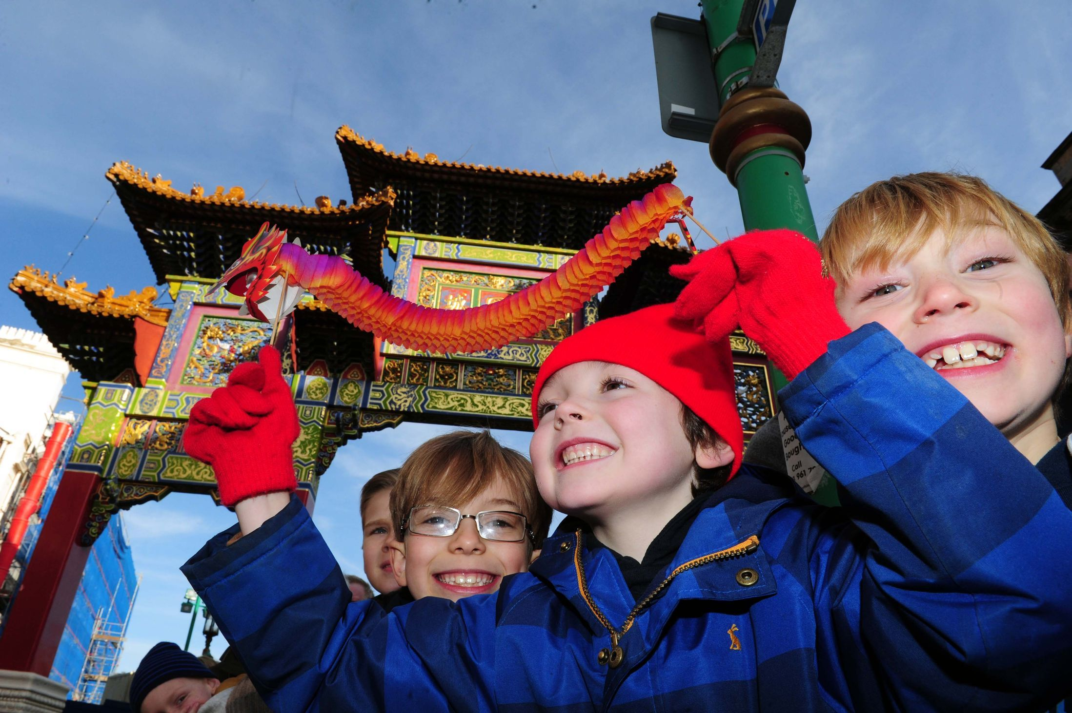 Liverpool Chinese New Year 2015 City's Year of the Goat