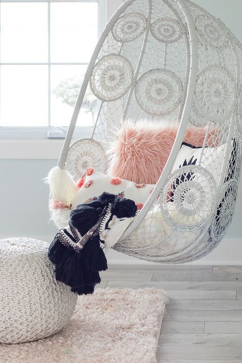 Photo of Tween Girl Beachy Boho Bedroom – The Lilypad Cottage
