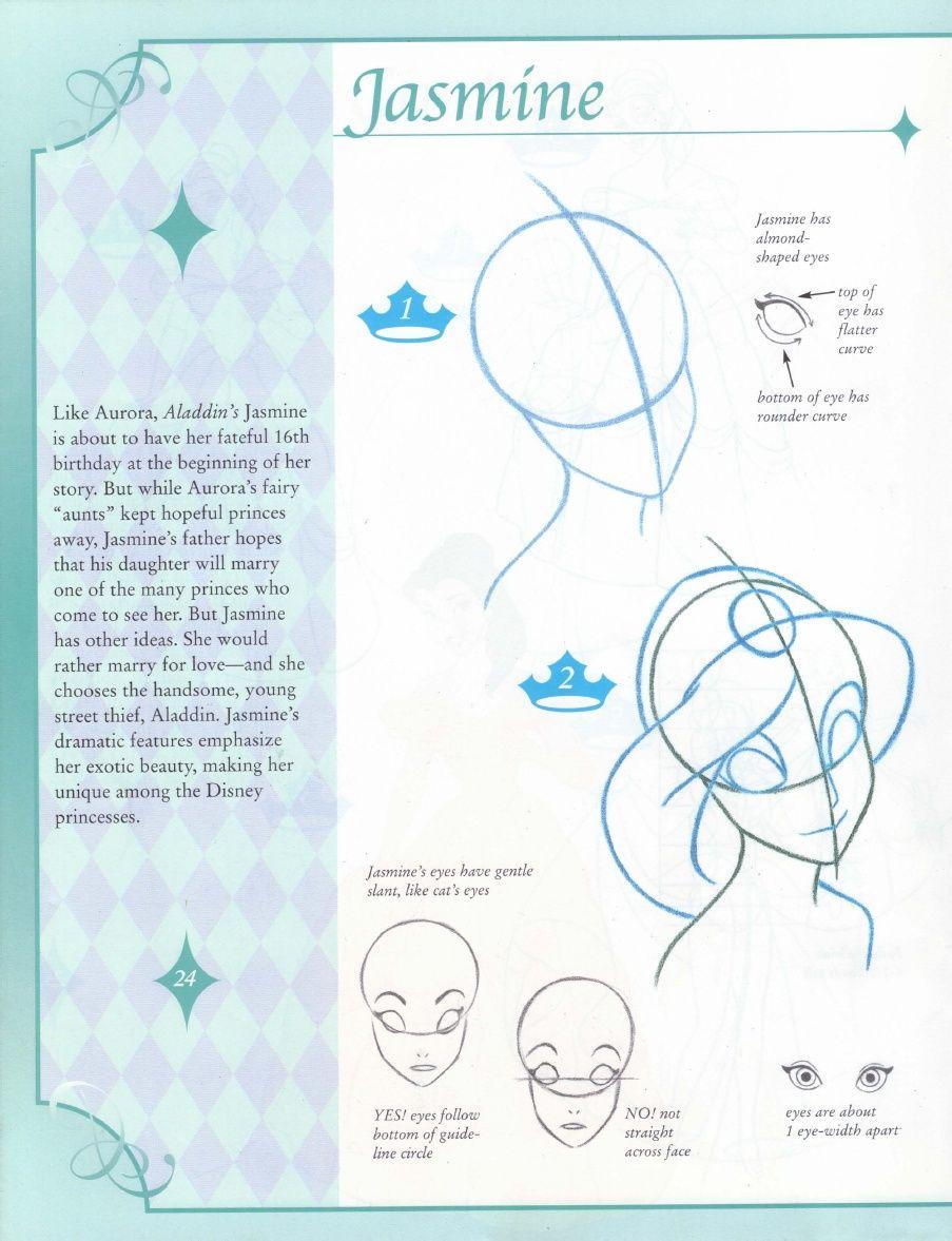 Disney  How To Draw Princesses