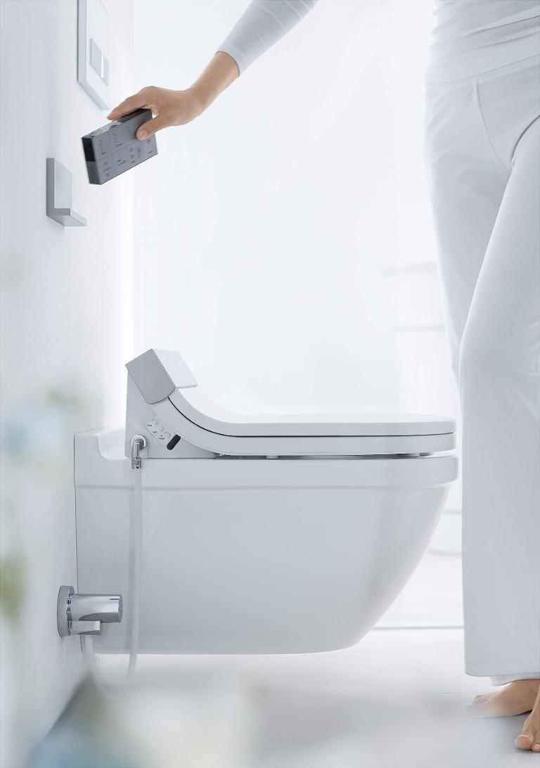 SensoWash® Starck SensoWash Starck shower-toilet seat #610000 ...