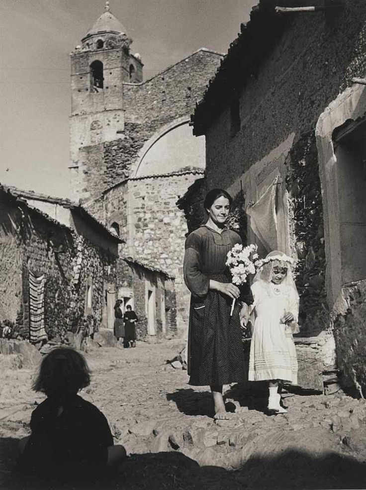 """First Communion, from """"Spanish Village"""", 1950s by W. Eugene Smith"""