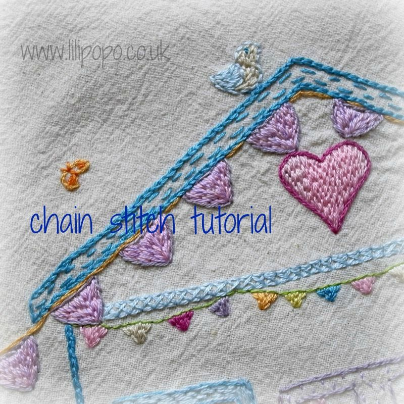 Lilipopo Embroidery Tutorials Great Pinterest Embroidery