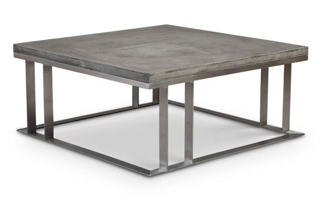 Sobe Square Coffee Table Gray 40x40 Coffee Table Coffee Table