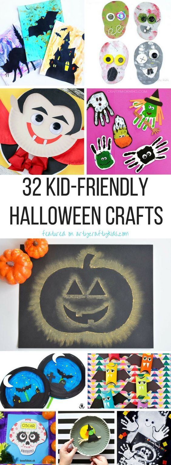 Kid-Friendly Halloween Crafts Crafty kids, Cardboard tubes and Craft - Kid Friendly Halloween Decorations