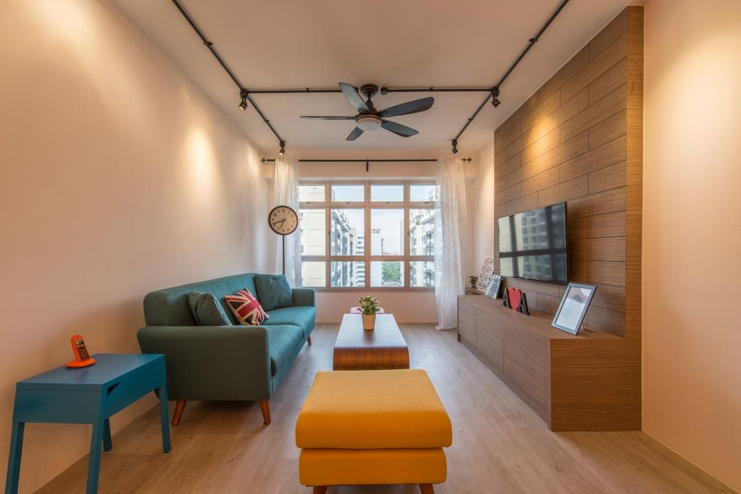 Check Out This Scandinavian Style Hdb Living Room And Other