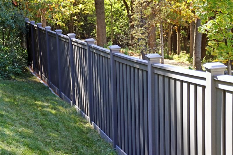 yard pvc railing for sale , cheap recycled plastic fence