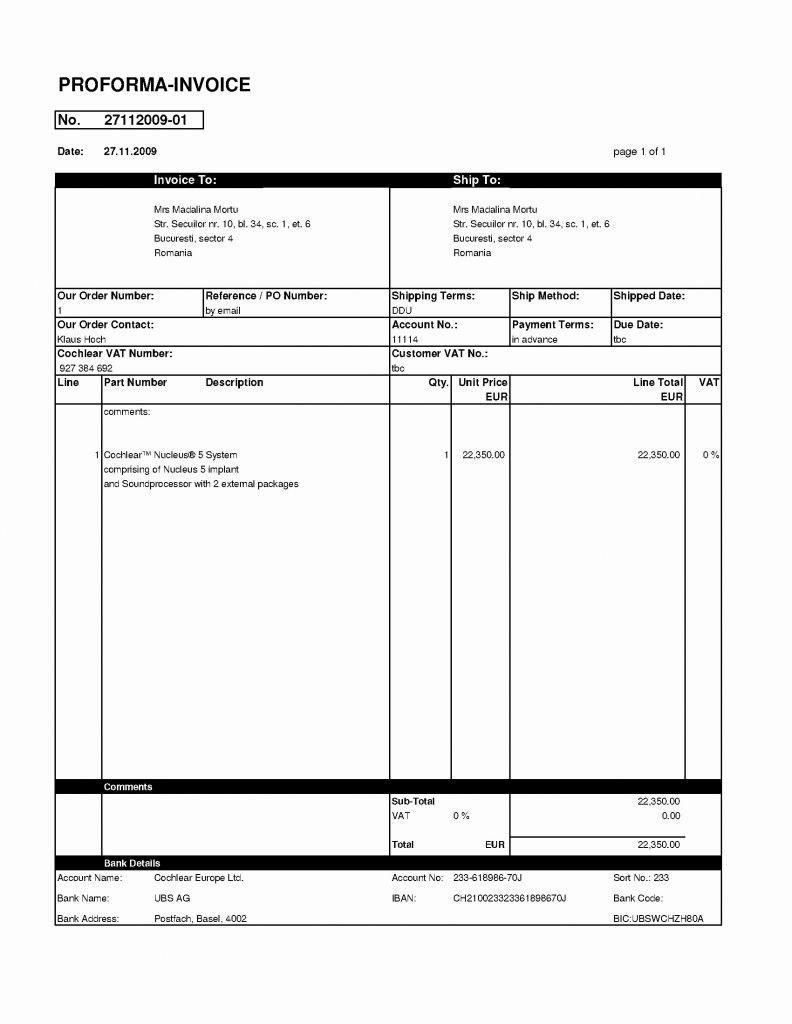 Gst Proforma Invoice Template Xls Free India Sample Simple Inside Proforma Invoice Template India 10 Profe Invoice Template Invoicing Professional Templates