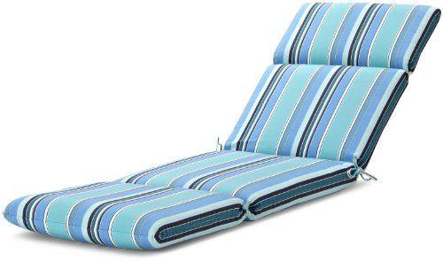 Strathwood Basics Hardwood Chaise Lounge Sunbrella Cushion Dolce