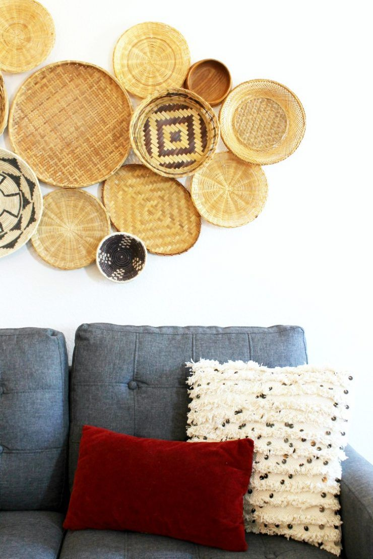 Excellent Decorative Basket Wall Art Contemporary - The Wall Art ...
