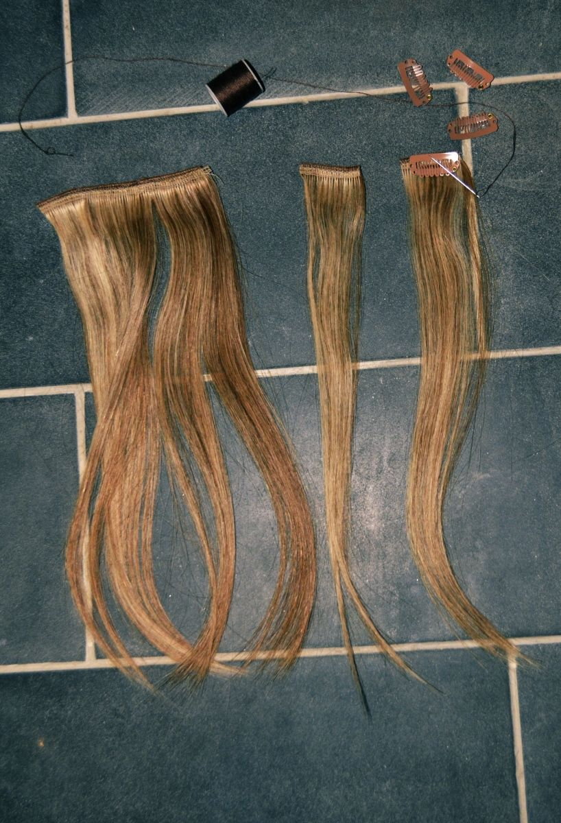 Diy Clip In Hair Extensions Hairhair Extension Ideas Pinterest