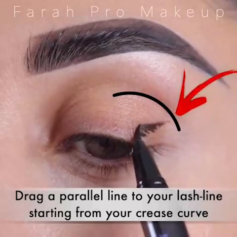 Photo of Eyeliner Technique Video with Step by Step Guide