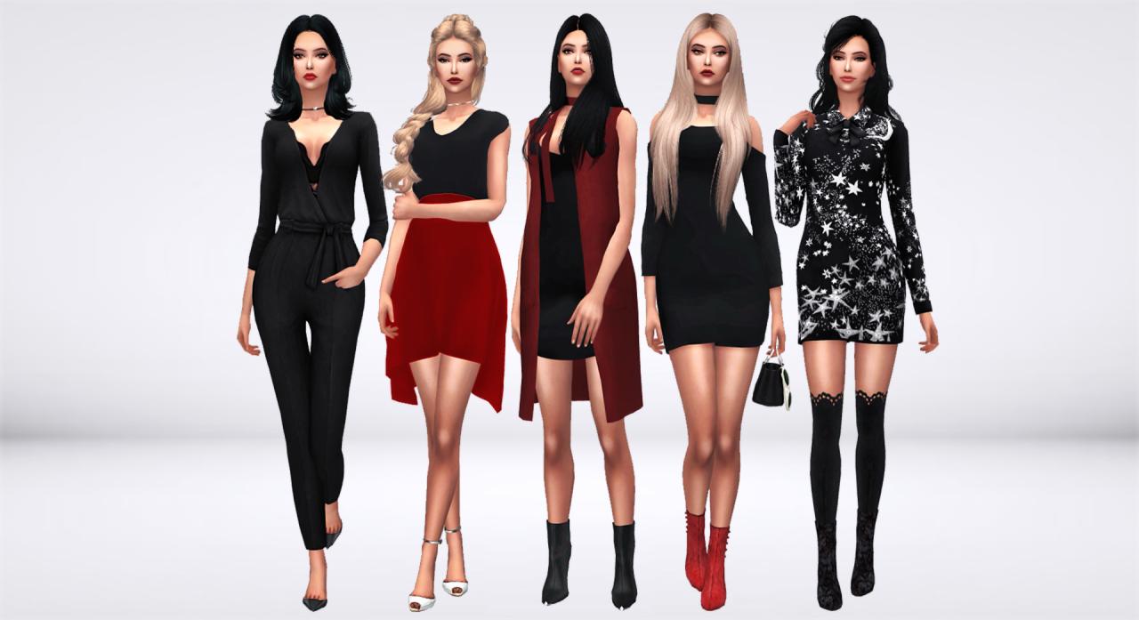 Black roses red tumblr dresses