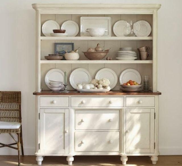 Pottery Barn Keaton Buffet And Hutch Country KitchenDining Room CabinetsKitchen