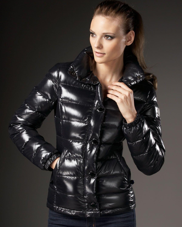25a8e99356c3 Moncler bady down jacket   Torn peplum ...