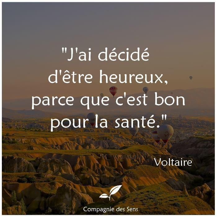 Cite A Quote: Citation De Voltaire #quote #bonheur