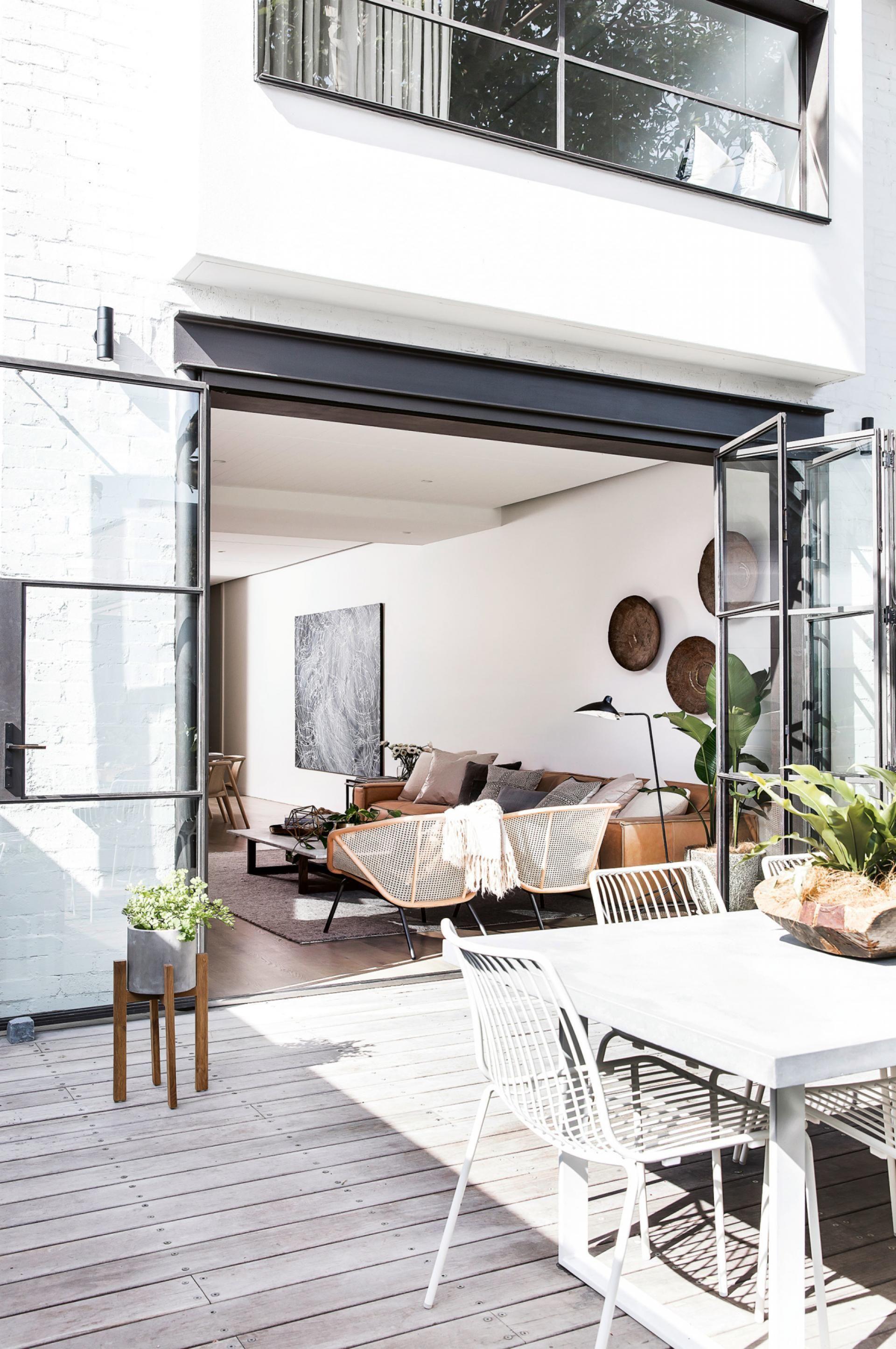 Minimalist Outdoor Inspiration | Pinterest | Terrace design, Villa ...