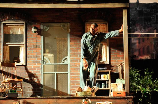 PlayMakers Repertory Company\u0027s production of Fences is the second