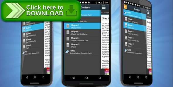 Free nulled Android eBook Template with Admob download | Other