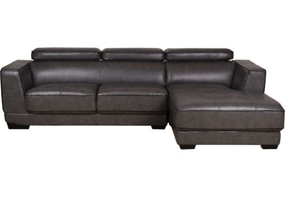 Dark Leather Sectional 1027 The Brick Leather Sectional Sectional Couch Couch