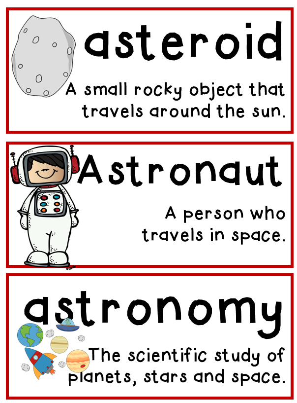 spacecraft vocabulary - photo #32