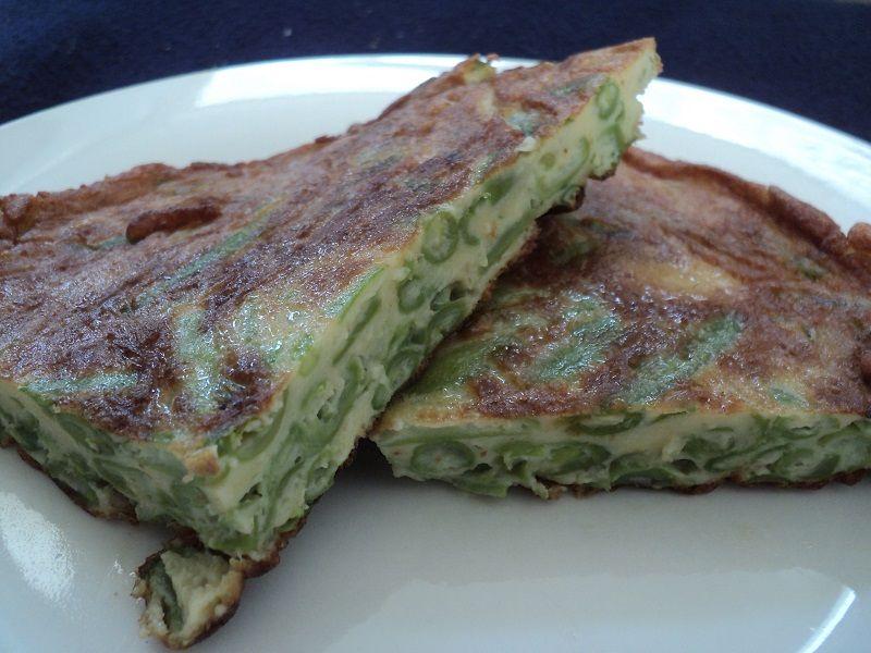 Receta Tortilla De Porotos Verdes Recetas Saladas Cookcina Tortilla De Porotos Verdes Porotos Verdes Comida Chilena