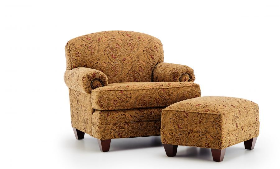 Levon Antique Chair  From KING HICKORY FURNITURE CO   On Sale Schneidermans  $889  OTTOMAN