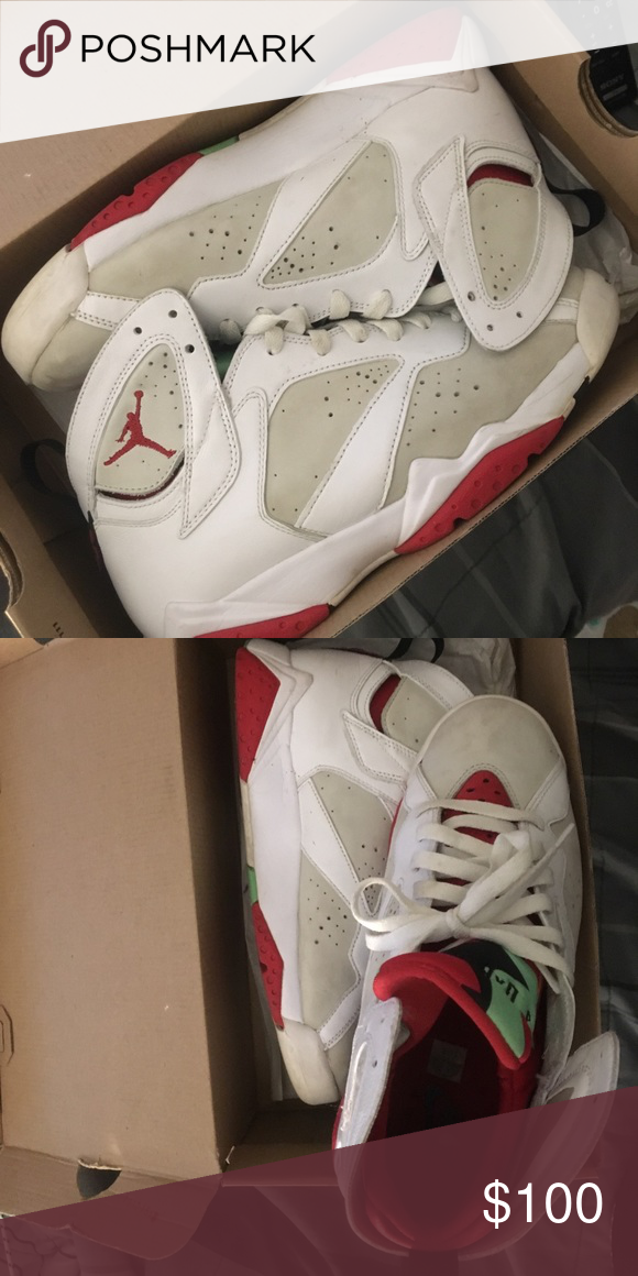 Jordan 7 hare Jordan 7 hare size 8 Air Jordan Shoes Sneakers ...