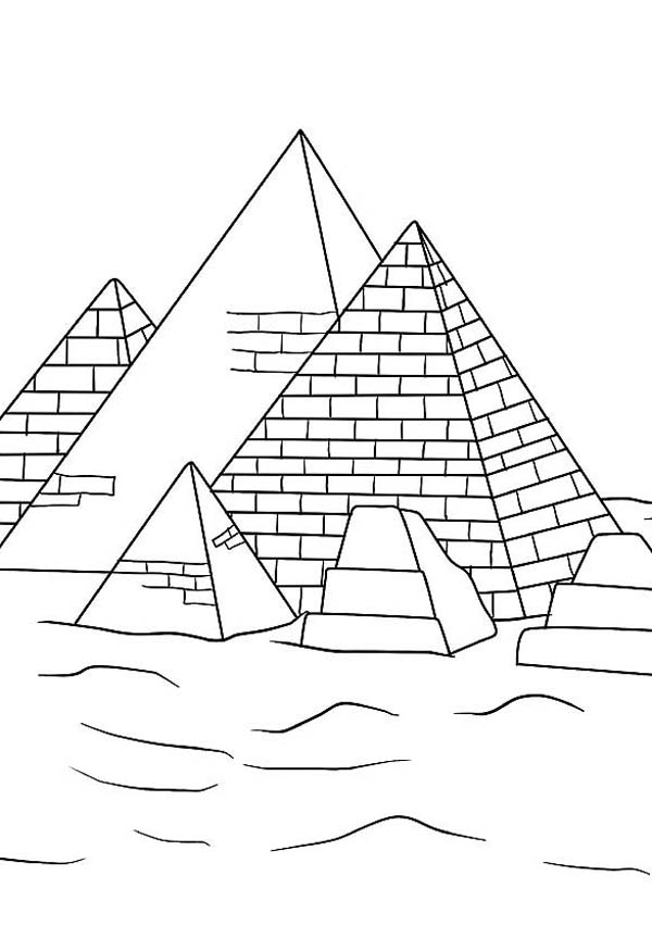 Learn About History Of Pyramid Coloring Page Coloring Sky In 2020 Coloring Pages History Of Pyramids Pyramids