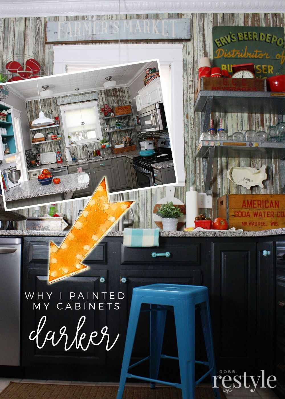 Why I Painted My Kitchen Cabinets... Again   Pinterest   Möbel