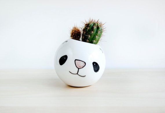 Pin By Karni On Kids Room Ceramic Plant Pots Face