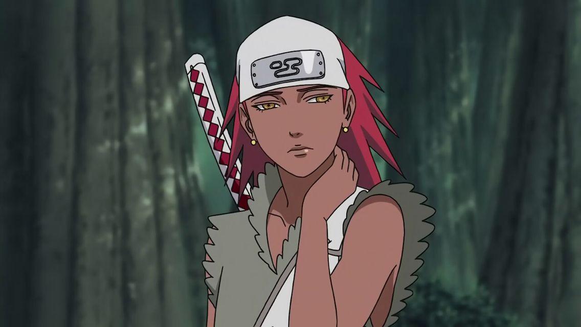 Karui•Naruto Shippuden   Black cartoon characters