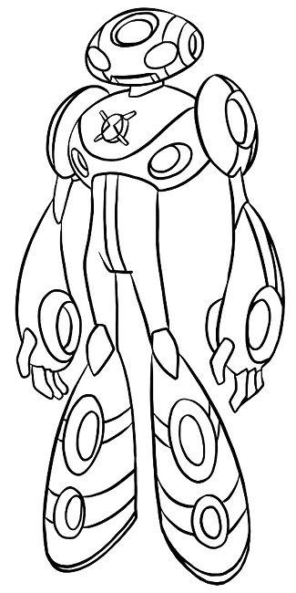 Ben 10 Coloring Pages Vilgax