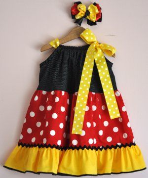 Customized and Personalized Children\u0027s Disney Clothing including Girls Minnie Mouse Dresses Pillowcase Dresses Tutus Pettiskirts Personalized and ... & Girls Minnie Mouse Twirl DressAvailable in Pink or RedPersonalize ... pillowsntoast.com