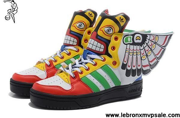 Venta al por mayor baratos Adidas x Jeremy Scott Wings Totem zapatos tu