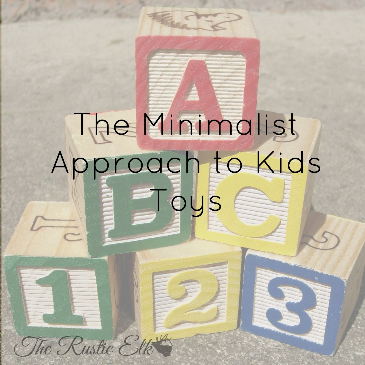 The Minimalist Approach to Kids Toys