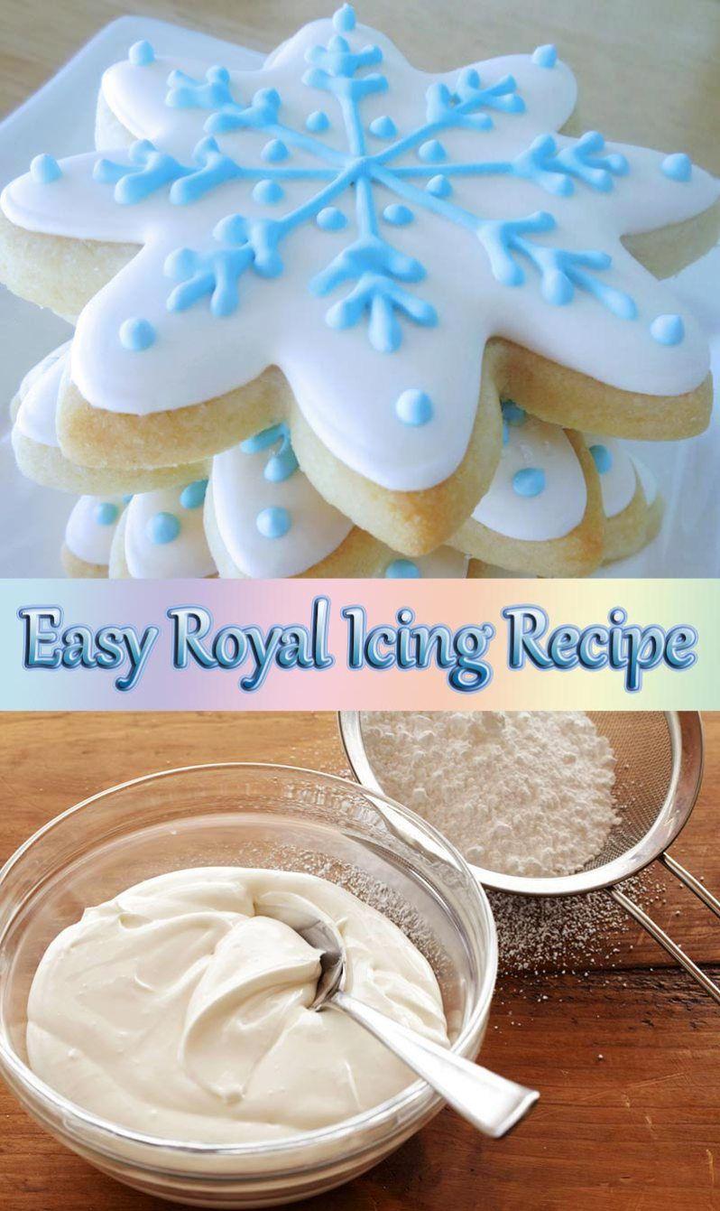 Easy Royal Icing Recipe Easy Royal Icing Recipe Royal Icing Recipe Sugar Cookie Icing Recipe