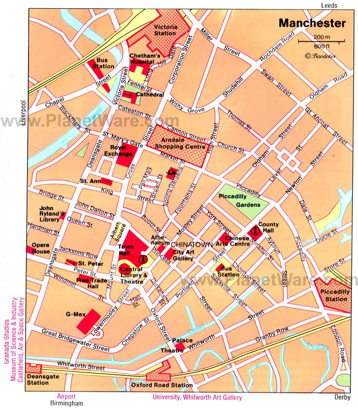 Manchester Tourist Map Manchester Map   Tourist Attractions | Manchester, UK | Manchester  Manchester Tourist Map