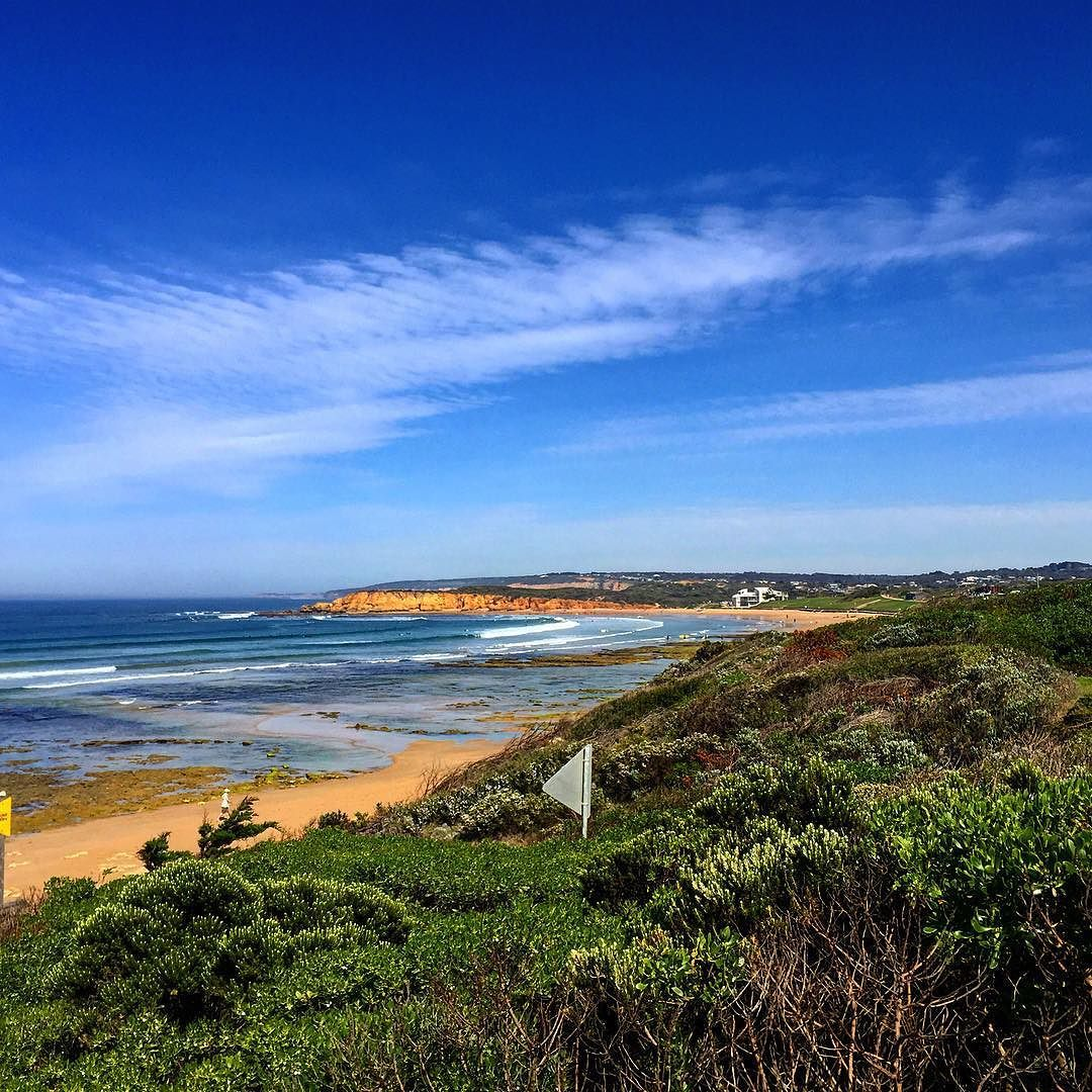It's a busy grey wet and dreary day in Sydney- what I'd  give to be back on holiday my biggest worry being the location for my mid morning surf...bring on the weekend! #sun #sea #surf #surfing #waves #coast #victoria #torquay #bellsbeach #holiday #bluesky #dreaming #wishing #almosttheweekend #almostsummer by johann_ruys http://ift.tt/1KnoFsa
