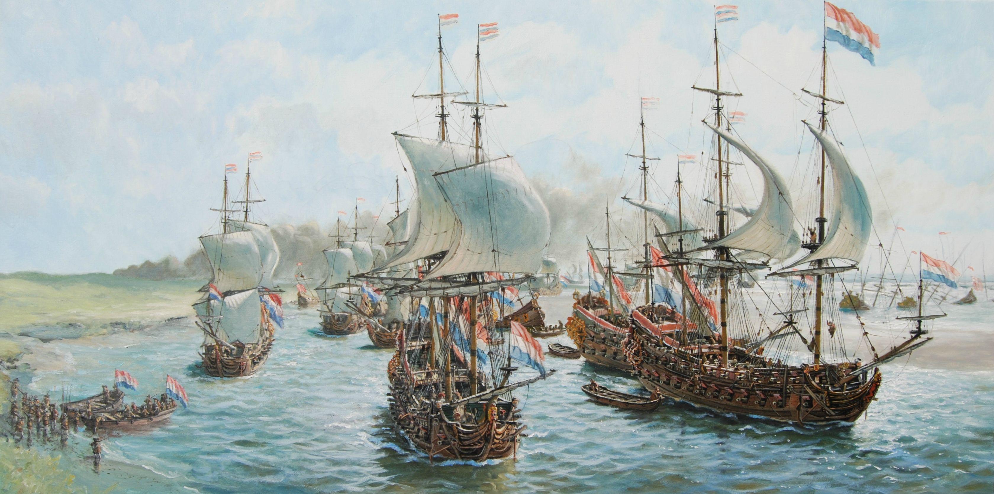 Dutch fleet during the Anglo-Dutch War