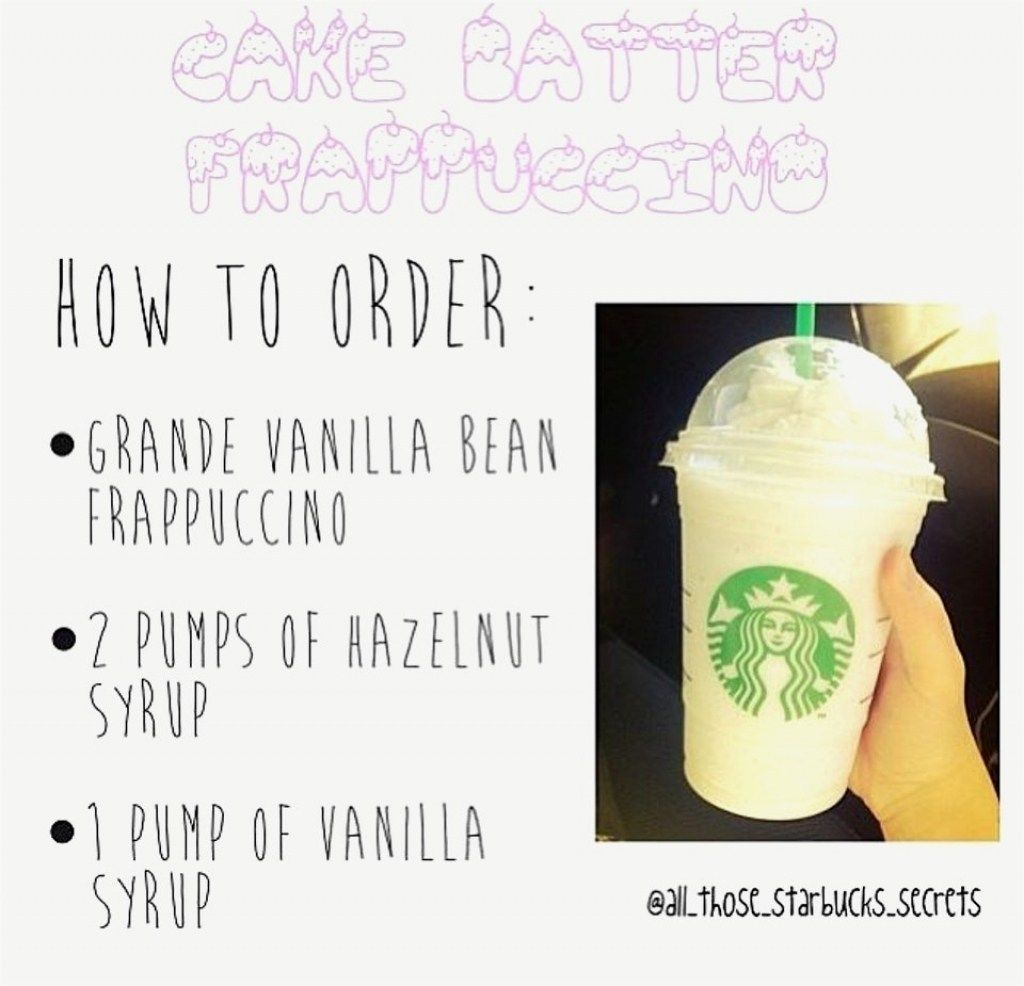 27 Excellent Image Of Birthday Cake Frappuccino Recipe Batter Starbucks Wwwtollebild BirthdayCakeImages
