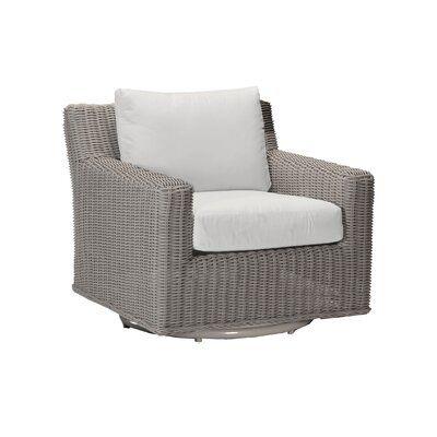 Swivel Patio Chair With Cushions