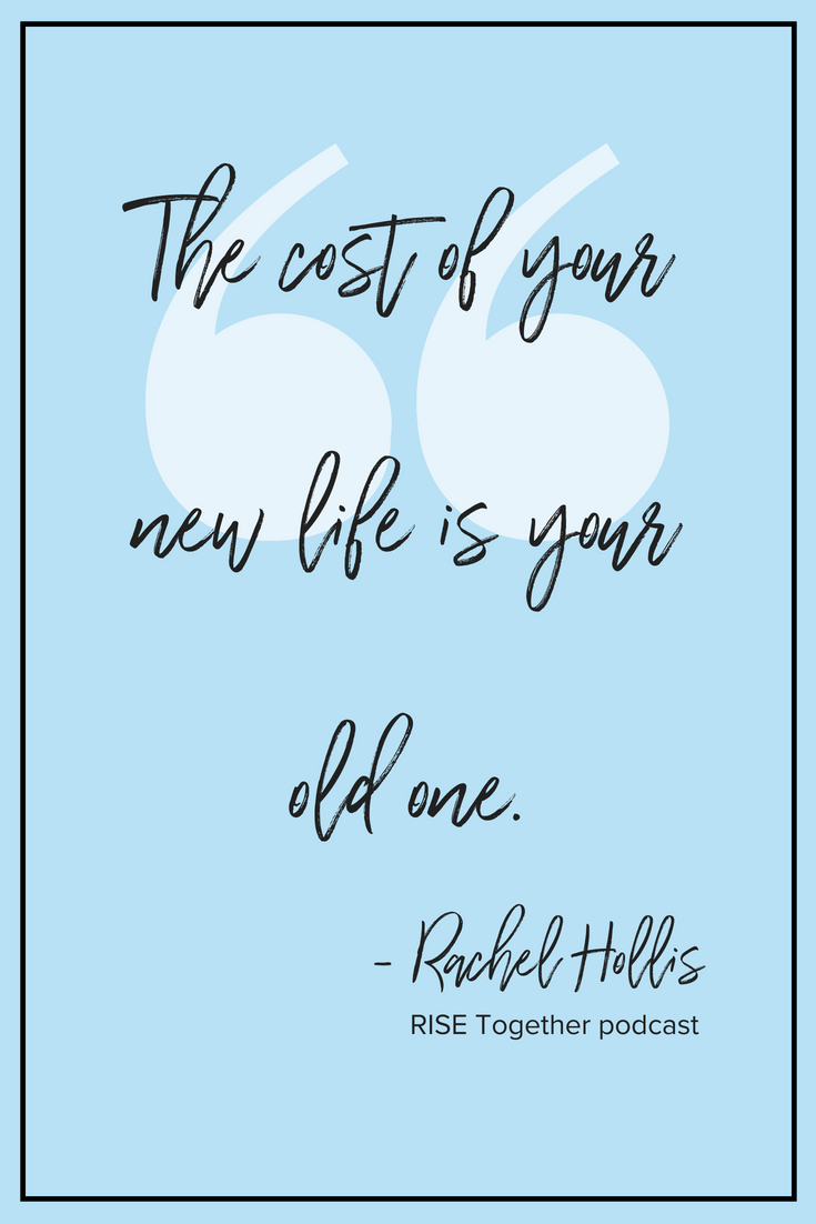 New Life Together Quotes: Rachel Hollis Tee - Color